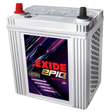 Exide Epiq batteries designed for cars and SUVs