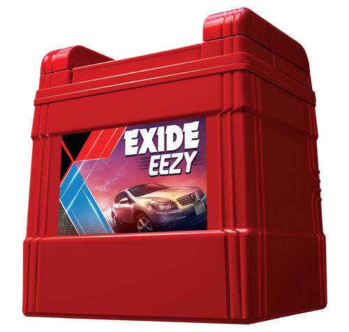 Exide EEZY batteries designed for cars and SUVs