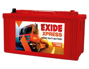 Exide Xpress, batteries for car SUV, LCV, SPV, HCV