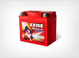 Exide Two Wheeler Battery - Price and Specifications