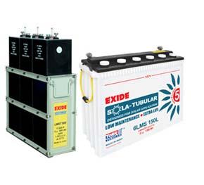 Exide Tubular Solar Battery - Features
